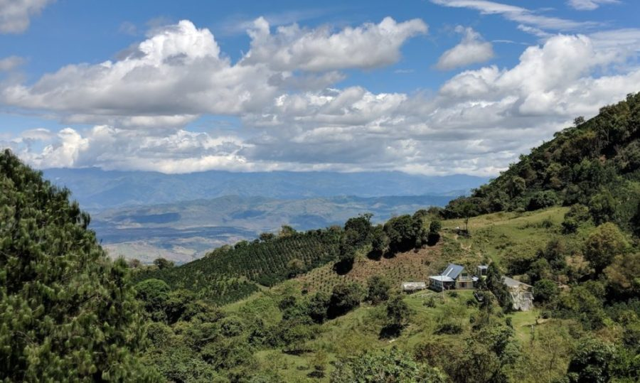 Colombia Cordilleras