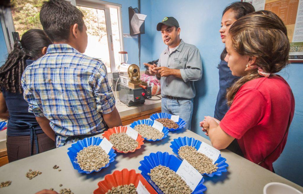 Honduras Coffee Kids Uniocafe