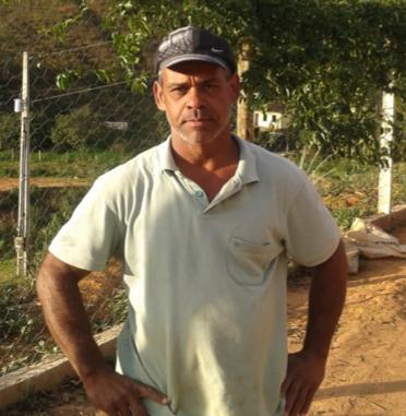 Coffee farmer Alair Geraldo