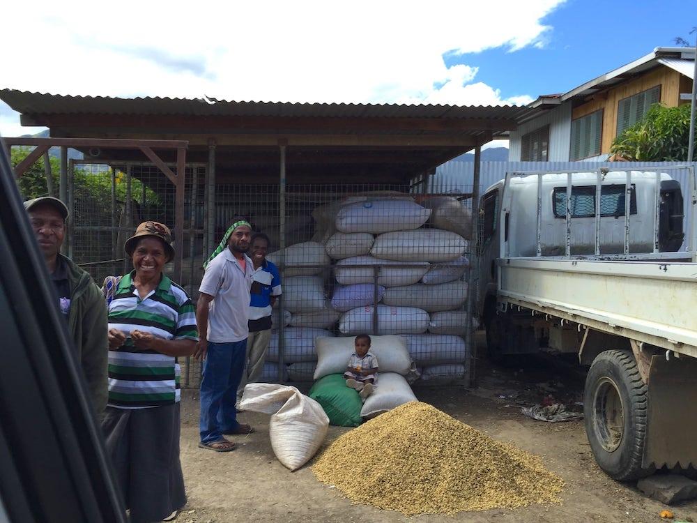 PNG coffee farmer.