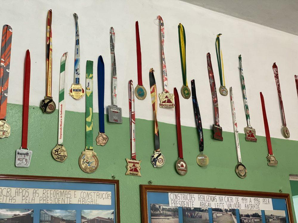 Taekwondo at Casa da Crianca