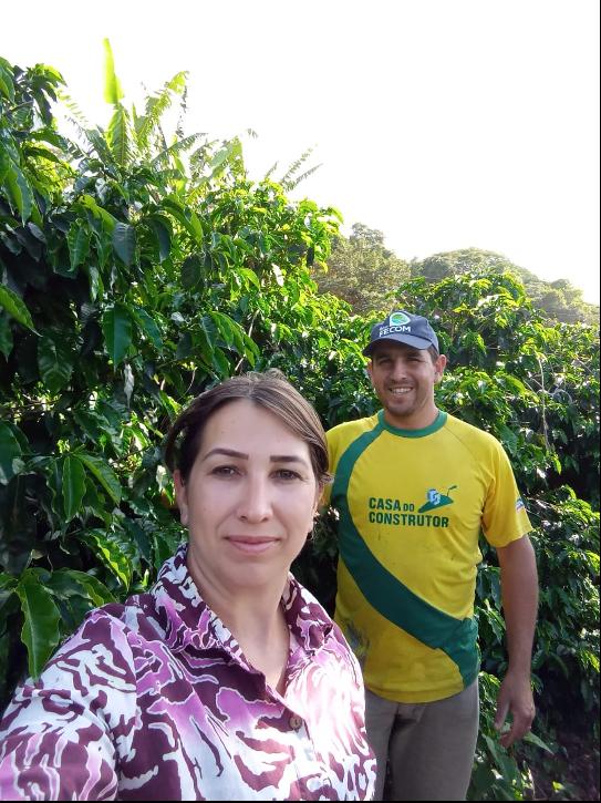Coffee producer Valdemir Oliveira dos Reis.