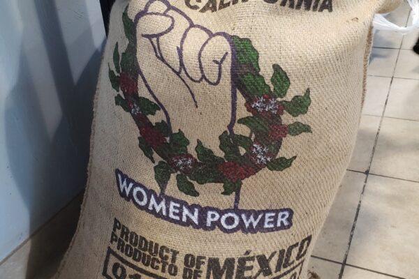 Women Power Zongolica coffee bag