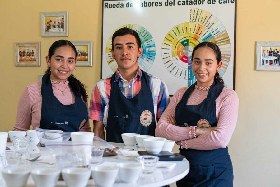 UNIOCAFE Youth Committee members